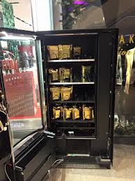 Twitter Powered Vending Machine Stunning Ted Baker Vogue Gold Night Twitter Vending Machine Aeguana Blog