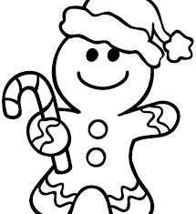 Gingerbread Cookies Coloring Pages Gingerbread Man Coloring Page