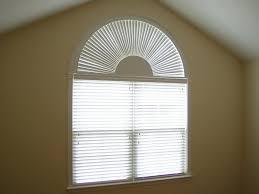 Half Circle Window Shades White  Cabinet Hardware Room  Elegant Semi Circle Window Blinds