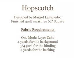 Hopscotch Pattern Unique Eleanor Burns Hopscotch Quilt Pattern By The Pattern Basket