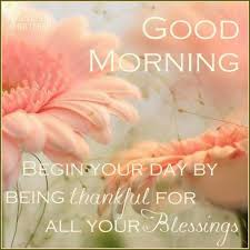 Good Morning Thankful Quotes