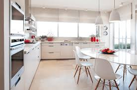All White Kitchen Designs Awesome Design
