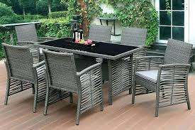 modern outdoor furniture set bistro table and chairs
