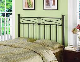 metal bed headboard queen. Brilliant Bed Metal FullQueen Headboard Rustic Bronze Intended Bed Queen E