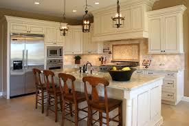 attractive white kitchen with tile backsplash