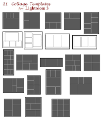 Picture Collage Templates Free Download Collage Templates For Lightroom 3 Free Download Photo