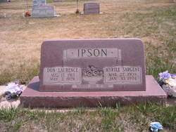 Myrtle Sargent Ipson (1909-1974) - Find A Grave Memorial