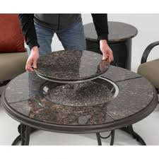 propane fire pit table with chairs. the outdoor great room company 48 inch granite firepit table propane fire pit with chairs