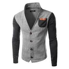 Us 24 0 Free Shipping Fashion Mens Slim Fit Stylish Casual Button Suit Business Blazers Coat Jackets 2 Colors In Jackets From Mens Clothing On