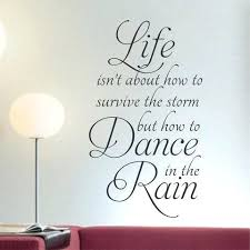vinyl wall quotes dance in the rain quote vinyl lettering wall decals vinyl wall art quotes on lettering wall art quotes with vinyl wall quotes dance in the rain quote vinyl lettering wall