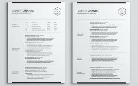 Two Page Resume Sample Two Page Resumes One Page Resume Sample Pdf
