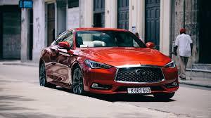 infiniti q60. 2017 infiniti q60 coupe driving down the streets of havana 0