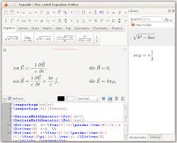 equalx latex equation editor