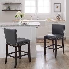 counter height stools. Oliver \u0026amp; James Hugo 24-inch Counter Stool (Set Height Stools