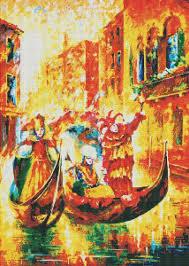 "<b>Набор для творчества</b> ""<b>Мозаика</b>. Венецианская гондола"", 53 х 75 ..."