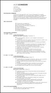 contract compliance resume free creative construction resume templates resume now