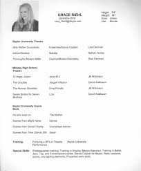 Dance Resume Dance Resume Layout Tomyumtumweb 27