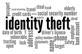 debt wise solutions identity theft identity theft word cloud