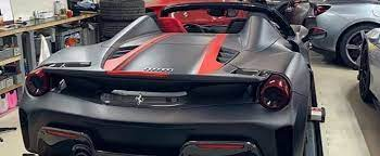 Every used car for sale comes with a free carfax report. Matte Black Ferrari 488 Pista Spider With Red Driver S Seat Has Amazing Spec Autoevolution