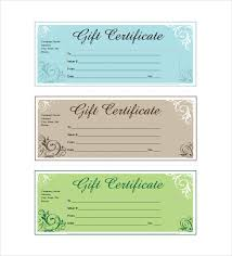 Business Gift Certificate Template Business Gift Certificates
