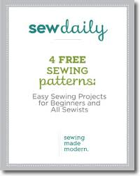 Free Sewing Patterns For Beginners Delectable 48 Free Easy Sewing Patterns Easy Sewing Projects For Beginners And