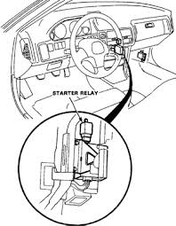 fuel kill switch starter relay location
