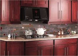 backsplash ideas for cherry cabinets cherry kitchen caninets and backsplashes ideas home design and