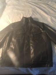 levi strauss brown genuine leather jacket
