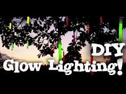glow in the dark lighting. How To Make A DIY Glow In The Dark Lighting! - Party Decoration YouTube Lighting