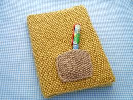 how to knit a book cover mollie makes free knitting patterns