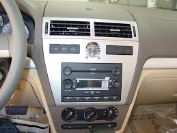 2006 2009 ford fusion and mercury milan car audio profile mercury milan factory radio