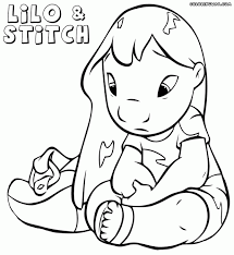 Adult Lilo And Stitch Coloring Pages Disney Lilo And Stitch Coloring