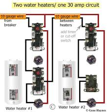 how to install two water heaters thermodisc wiring diagram two water heaters