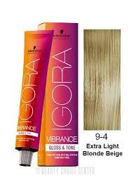 Igora Vibrance Shade Chart Schwarzkopf Igora Vibrance Gloss Tone Hair Color Select