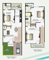 ground floor first floor home plan lovely 15 x 40 working plans of ground floor