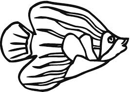 Small Picture Angelfish coloring page Animals Town Animal color sheets