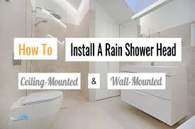 how to install a rain shower head featured image showersly