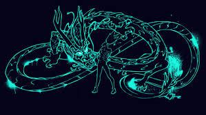 Epic Neon Dragon Wallpaper / 4k ...