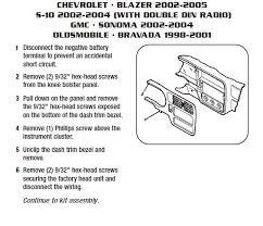 05 blazer stereo wiring harness wiring wiring diagram gallery 2002 chevy blazer wiring diagram at 2001 Chevrolet Trailblazer Wiring Diagram