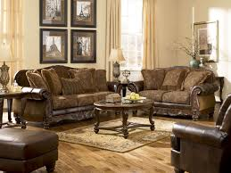Mahogany Living Room Furniture Leather Living Room