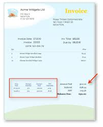 How To Design A Receipt Adding Payment details on Customer Invoice MoneyWorks Support Blog 1