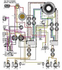 evinrude johnson outboard wiring diagrams mastertech marine v 4 motors