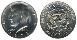 1972 Kennedy Half Dollar Value Chart 1970 1979 Kennedy Half Dollars