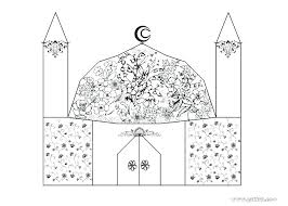 Free Printable Muslim Coloring Pages Islamic Colouring Book Drop