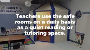bulletproof stormproof safe rooms for schools