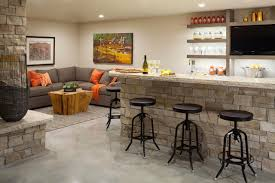 Living Room With A Bar Basement Bar Ideas And Designs Pictures Options Tips Hgtv