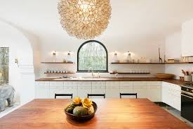 Spanish Style Kitchen Decor Cool Spanish Style Kitchen With Globe Ceiling Light And Hardwood