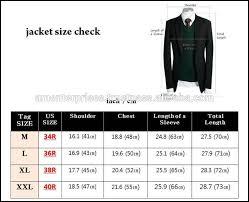36r Jacket Size Chart Suit Sizes Fashion Dresses