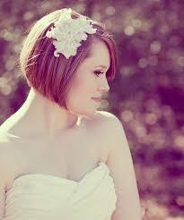Pittige Korte Bruidskapsels