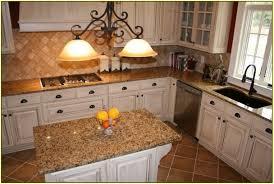 Granite For White Cabinets Tropic Brown Granite Countertops With White Cabinets Home Design